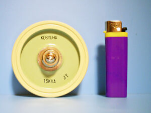 New Kosyuha Ceramic High Voltage Capacitor 15kva Dc 80 500pf Tvac7kv Japan