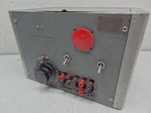 General Radio Co Type 200b Variac Vintage Variable Transformer 115 V 60 Ia