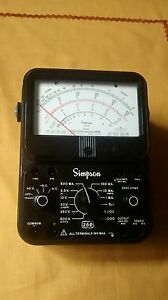 Simpson Electric 260 series 7 Analog Multimeter