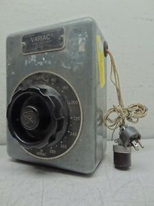General Radio Company Type W20hm Variac Variable Autotransformer 0 280v 8amps