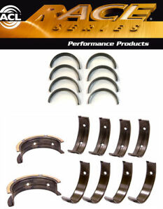 Acl Std Race Rod Main Thrust Bearings Honda D16a1 D16y5 D16y7 D16y8 D16z6