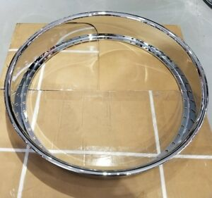 1 28x5 Outer Barrel Hoop 50 Hole Chrome Lip Hre Asanti Forgiato Amani Reverse