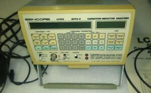 Sencore Lc102 Auto z Esr Capacitor Inductor Analyzer Tester With Book Accessorie