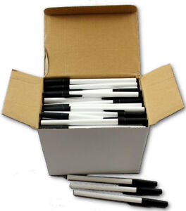 Wholesale Bulk Stick Ballpoint Pens Black Lot Of 576