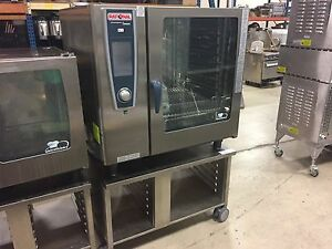 Rational Sccwe102g Gas Combi Oven Demo Units W 1 Year Factory Warranty