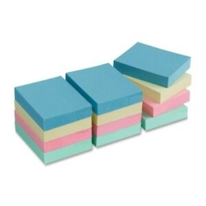 Wholesale Business Source Sticky Notes 1 5 x2 Pastel 168 X 100 Sheet Pads