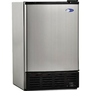 Ice Maker Machine Commercial Portable Refrigerator Undercounter Whynter Ss