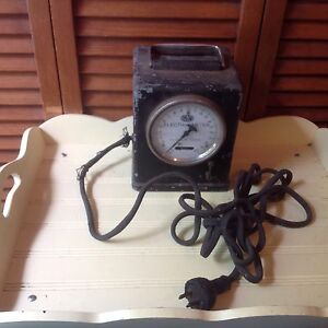 Sangamo Electric Portable Kilowatt Hours Meter Type F Serial 6896485 1942