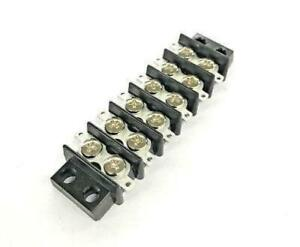 Sato Parts Ml 1765 6p 6 Position 15a Screw Or Solder Terminal Block