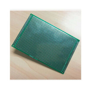 Double Side 8 X 12 Cm Pcb Strip Board Printed Circuit Prototype Track Lw 5