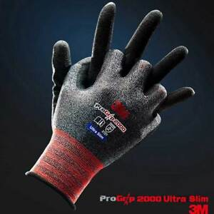 10 Pairs 3m Pro Grip 2000 Ultra Slim Work Gloves Builders Mechanic Construction