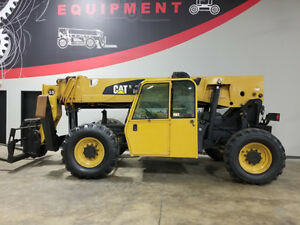 2011 Cat Caterpillar Tl1055 10000lb Pneumatic Telehandler Diesel Telescopic Lift