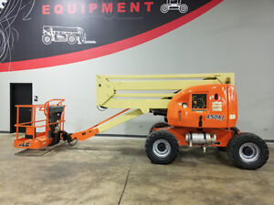 2005 Jlg 450a 500lb Pneumatic Boom Lift 4x4 Dual Fuel Man Lift Recon By Jlg