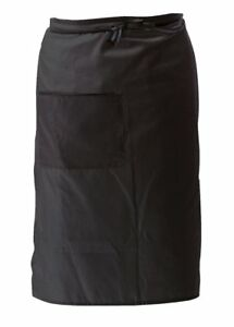 Crestware Bistro Apron 2 Pocket Black