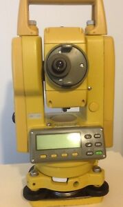 Topcon Gts 226 Surveying Total Station Fully Tested Calibrated