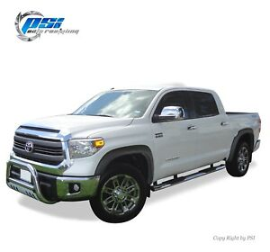 Black Sand Blast Textured Oe Style Fender Flares 2014 2020 For Toyota Tundra