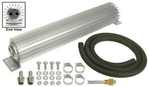 Derale 17 1 4 X 2 3 16 X 3 1 4 In Automatic Trans Fluid Cooler Kit P n 13264