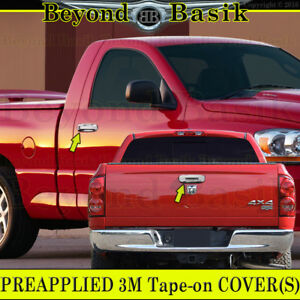 2002 2008 Dodge Ram 1500 03 09 2500 5500 Chrome Door Handle Covers W Pk Tailgate