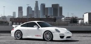 19 Ruger Flow Forged Wheels Rims For Porsche 996 911 Carrera C4s Turbo