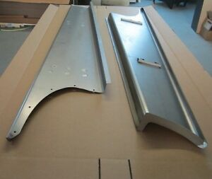 New 1939 Chevy gmc Truck 1 2 Ton Smooth Steel 16g Running Boards Hot Rod Street