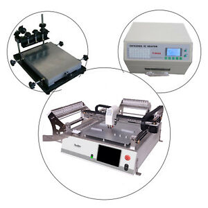 Low Price Smt Production Line neoden 3v adv stencil Printer reflow Oven T962a l