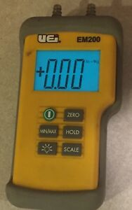 Uei Em200 Dual Digital Manometer Meter