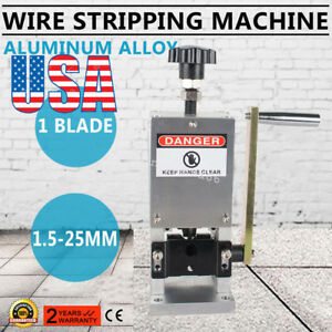 Manual Copper Cable Wire Stripper Scrap Copper Stripping Machine Usa Ce Usps