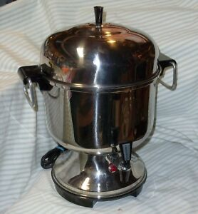 Farberware 130 a Percolator Stainless Steel 12 30 Cup Automatic Coffee Urn Usa