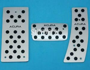 Aluminum At Foot Pedals Rest Fit For Acura Rl Rlx Tl Tsx Automatic 2009 2012 Us