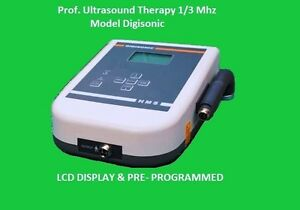 New 1 3mhz Ultrasound Therapy Machine Pain Relief Instrument Lcd Display Kjdf