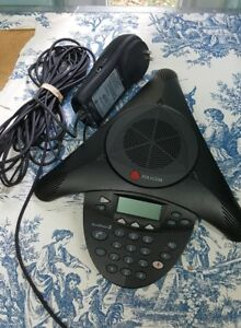 Polycom Soundstation 2 2201 16000 001 Non Expandable Display Conference Phone