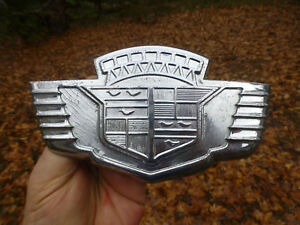 1942 Cadillac Trunk Emblem 6 3 8 Badge super Rare
