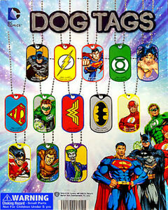 Vending Machine 1 00 Capsule Toys Dc Comic Dog Tags