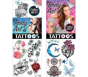 Sticker Flat Vending Machine Capsule Toys Body Art Tattoos