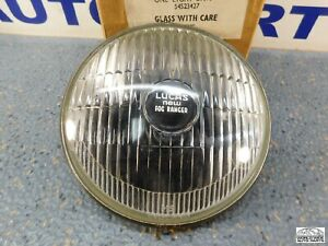 Lucas New Ranger Ft7 Fog Lamp Lens Reflector Clear 54523427 Nos