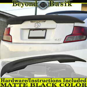 2011 2012 2013 2014 2015 2016 2017 Scion Tc Matte Black Factory Style Spoiler