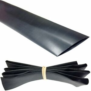 2 Heat Shrink Tubing 2 1 100ft black