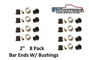 4 Link Bar End 2 Wide X 2 Outer Diameter W Bushing Sleeve Free Shipping