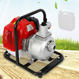 1 Inch 2 Stroke 1 7hp Petrol Water Transfer High Pressure Pump For Irrigation