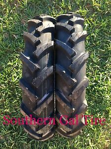Two 600 16 Bkt As 504 Compact Tractor Tire R 1 Lug 6 Ply 6 00 16 6x16 With Tubes