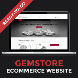 Website For Sale Turnkey Professional Business Website Jewelry Store