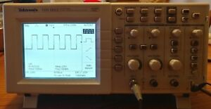 Slightly Used In Mint Condition Tektronix Tds1012 Oscilloscope And Two Probes