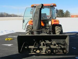 New Holland Snow Blower 72 Wide Hydraulic Chute Rotator Very Good Condition