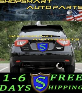 Sr S Srs Tuning Catback Exhaust Systems For 2008 Wrx Sti Turbo 5 Door Hb Wagon