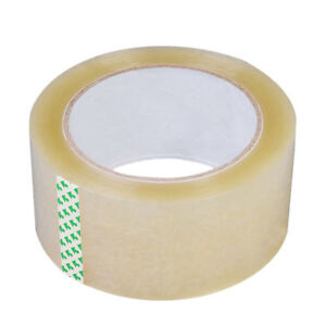 1 8 Mil Clear Packing Tape Carton Box Sealing Moving Shipping 165 Feet 55 Yards