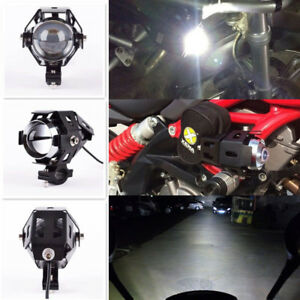 125w Motorcycle U5 Cree Led Headlight Fog Driving Bulb Lamp Spot Light For Bmw