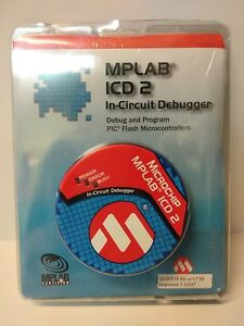 Microchip Mplab Icd 2 In circuit Debugger 10 00318 R6 New Sealed
