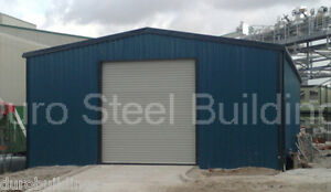 Durobeam Steel 33x44x12 Metal Clear Span Storage Building Garage Workshop Direct