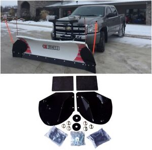 New Heavy Duty Snow Plow Pro Wing Blade Extensions For Western Snowplow Blade