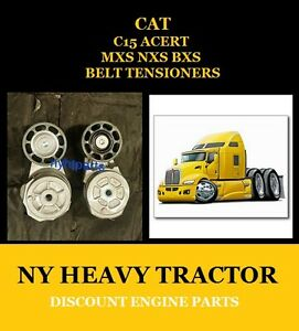 1900642 1900649 Tightener Belt New Replacement For Caterpillar C15 Mxs Nxs Bxs